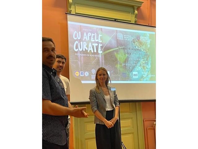 Eveniment-manifest pentru Dunăre: Apel la implicare în combaterea și reducerea poluării cu plastic a apelor Dunării