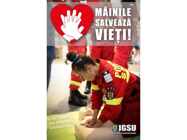 Învață să acorzi prim ajutor de bază în situații de urgență!  Mâinile tale pot salva vieți!