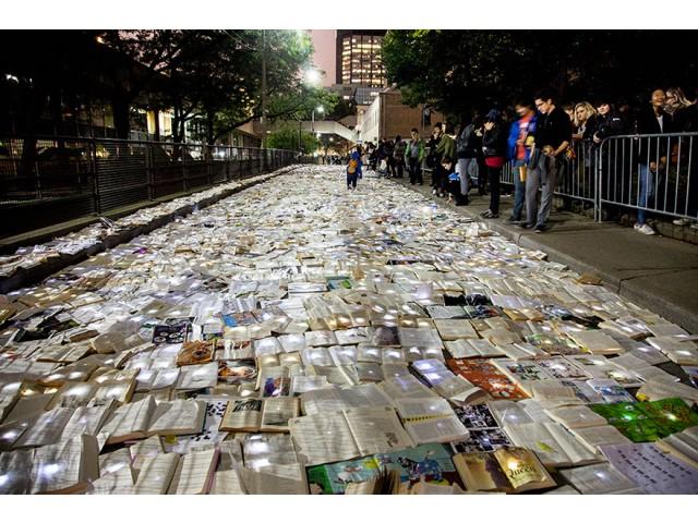 Râu de cărți, în lupta antipoluare