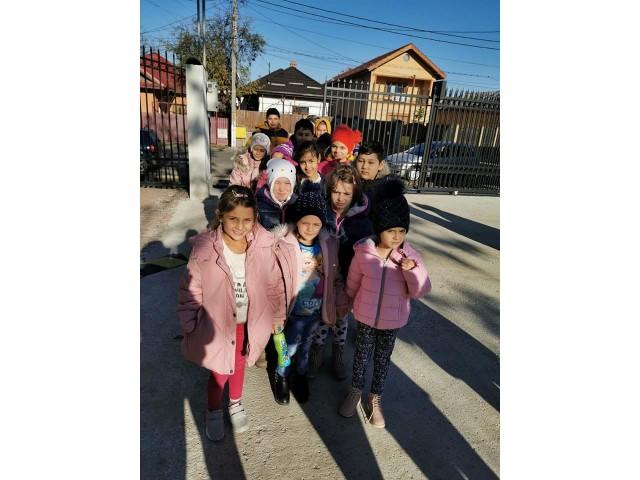 """Acțiune de voluntariat organizată de elevii clasei a XI-a G din cadrul Colegiului Național """"Barbu Știrbei"""""""