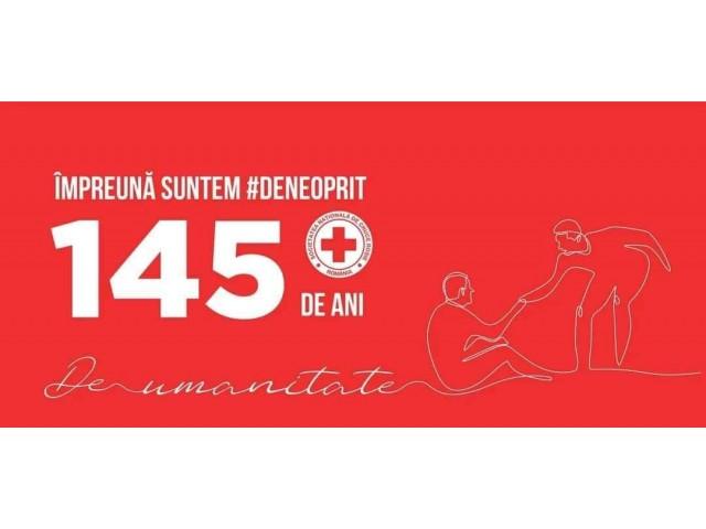 Crucea Roșie România - 145 de activitate umanitară