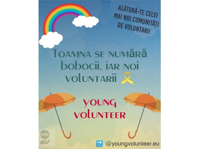 """Am demarat pregătirea primei Campanii de voluntariat """"Young Volunteer"""""""