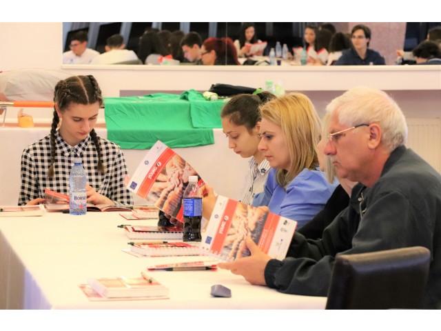"""Conferința de lansare a proiectului """"Young Volunteer"""" ROBG 296"""