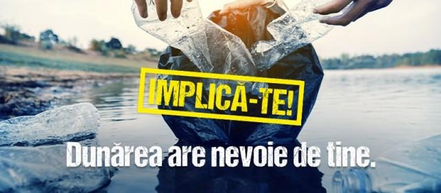 Campanie de ecologizare pe Drumul către Dunăre