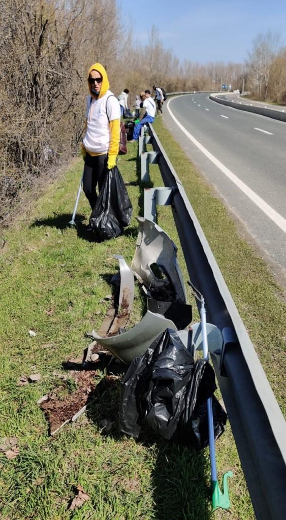 Campania de ecologizare pe #DrumulCătreDunăre